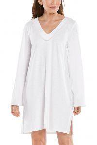 Coolibar---UV-Schutz-Strandkleid-für-Damen---Samoa-Cover-Up---Weiß