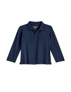 Coolibar---UV-Polo-Shirt-für-Kleinkinder---Langärmlig---Coppitt---Navy