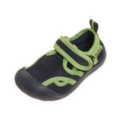 Playshoes---Aqua-Sandalen-für-Kinder---Marine/grün
