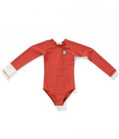 Tenue-de-Soleil---UV-Badeanzug-für-Mädchen---Malie---Sunny-Peach