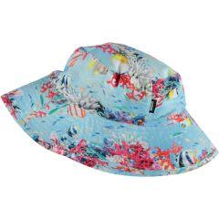 Molo---UV-Sonnenhut-für-Mädchen---Nadia---Coral-Stripe---Multi