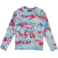 Molo---UV-Schwimmshirt-langen-Ärmeln-für-Mädchen---Neptune---Coral-Stripe