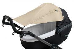 Altabebe---Universeller-UV-Sonnenschutz-mit-Flanken-für-Kinderwagen---Beige