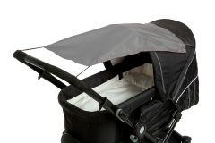 Altabebe---Universeller-UV-Sonnenschutz-für-Kinderwagen---Dunkelgrau