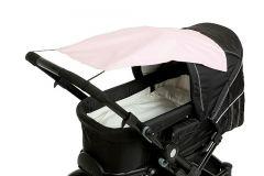 Altabebe---Universeller-UV-Sonnenschutz-für-Kinderwagen---Hellblau