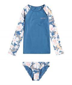Roxy---UV-Schwimmanzug-für-junge-Mädchen---Langarmshirt---Swim-Lovers---Blue-Moonlight