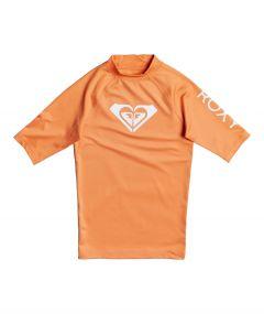 Roxy---UV-Badeshirt-für-Teenager-Mädchen---Whole-Hearted---Lachsfarben