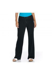 Coolibar---UV-Strandhose-Damen---schwarz