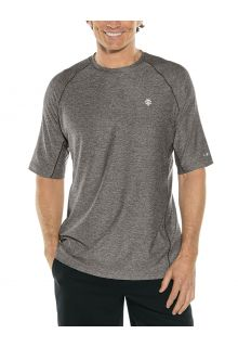 Coolibar---UV-Sportshirt-für-Herren---Agility-Performance---Anthrazitgrau
