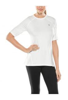 Coolibar---UV-Fitness-Top-für-Damen---Devi---Weiß