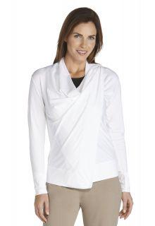 Coolibar---UV-Damenjacke---weiß
