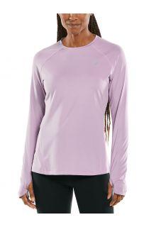 Coolibar---UV-Fitness-Top-für-Damen---Langärmlig---Devi---Lavendel