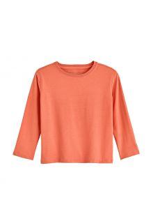 Coolibar---UV-Shirt-für-Kleinkinder---Langarmshirt---Coco-Plum---Soft-Coral
