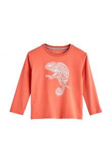 Coolibar---UV-Shirt-für-Kleinkinder---Langarmshirt---Coco-Plum-Grafik---Soft-Coral