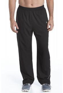 Coolibar---UV-Schutz-Fitness--Hose-Herren---schwarz