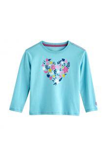 Coolibar---UV-Shirt-für-Kleinkinder---Langarmshirt---Coco-Plum-Graphic---Eisblau