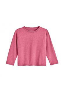 Coolibar---UV-Shirt-für-Kleinkinder---Langarmshirt---Coco-Plum---Dahlia-Pink
