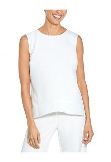 Coolibar---UV-Tank-Top-für-Damen---St.-Tropez-Swing---Weiß