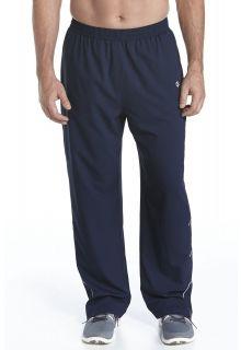 Coolibar---UV-Schutz-Fitness--Hose-Herren---dunkelblau