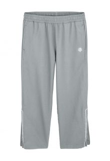 Coolibar---UV-Sporthose-für-Jungen---Outpace---Eisen