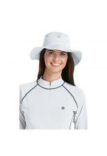 Coolibar---UV-Bucket-Hut-Unisex---Weiß