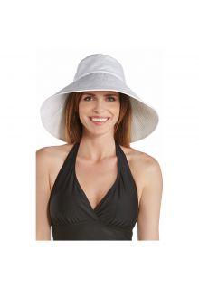 Coolibar---UV-Strandhut-für-Damen-mit-breiter-Krempe---Weiß