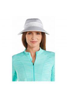Coolibar---Multifuntionelle-UV-Sonnekappe-für-Damen---Weiß