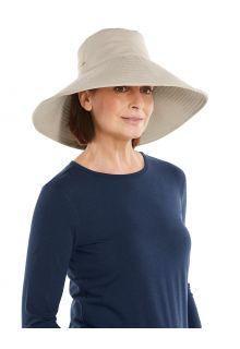 Coolibar---UV-Schlapphut-für-Damen---Brittany---Natural