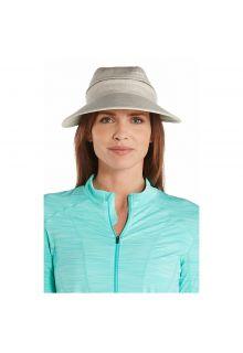 Coolibar---Multifuntionelle-UV-Sonnekappe-für-Damen---Beige
