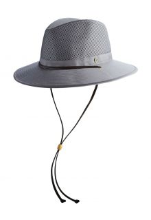 Coolibar---Quetschbarer,-atmungsaktiver-UV-Hut-für-Herren---Kaden---Smoke-Grey
