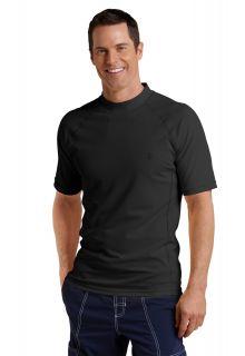 Coolibar---UV-Schutz-T-Shirt-Herren---Schwarz