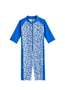 Coolibar---UV-Schwimmanzug-für-Jungen---Barracuda-Hals-zu-Knie---Marlin-Blau