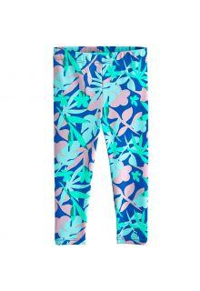 Coolibar---UV-Schwimmleggings-für-Babys---Wave-Tights---Marlin-Blau-Floral