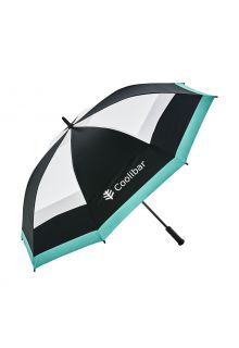 Coolibar---UV-schützender-Regenschirm---Tournament-Golf---Schwarz/Weiß