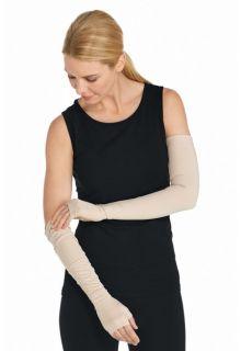 Coolibar---UV-schützende-Armstulpen---Beige