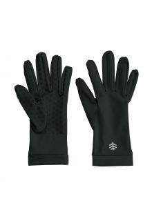 Coolibar---UV-schützende-Handschuhe-für-Erwachsene---Sawyer---Schwarz