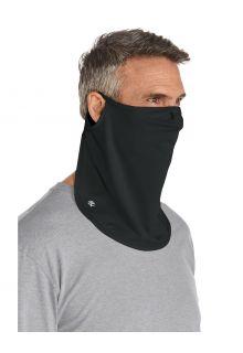 Coolibar---UV-schützende-Gesichtsmaske-für-Erwachsene---Crestone---Schwarz