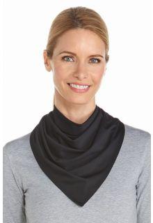 Coolibar---UV-schützendes-Bandana---Schwarz