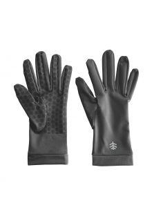 Coolibar---UV-schützende-Handschuhe-für-Erwachsene---Sawyer---Anthrazit