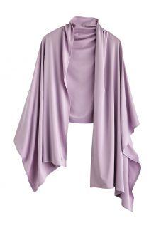Coolibar---UV-schützender-Schal-für-Damen---Bhakti-Sun---Lavendel