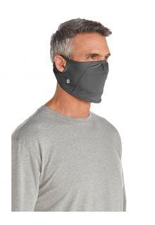 Coolibar---UV-schützende-Maske-für-Erwachsene---Blackburn---Anthrazit