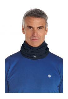 Coolibar---UV-schützender-Nackenschutz-für-Erwachsene---La-Plata---Schwarz