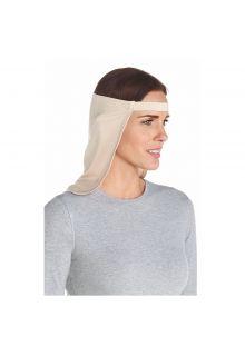 Coolibar---UV-Nackenschutz-unisex---Beige