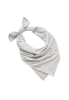 Coolibar---UV-schützendes-Sportbandana-für-Erwachsene---Virasana---Silber