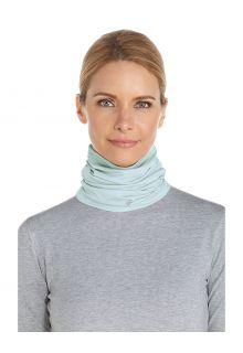 Coolibar---UV-schützender-Nackenschutz-für-Erwachsene---La-Plata---Hellblau