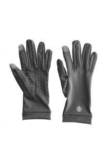 Coolibar---UV-schützende-Handschuhe-für-Erwachsene---Gannett---Anthrazit