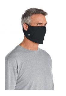 Coolibar---UV-schützende-Maske-für-Erwachsene---Blackburn---Schwarz