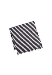 Coolibar---UV-Sonnendecke---Schwarz/Weiß-gestreift