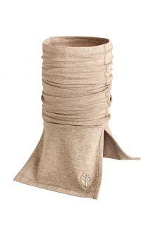 Coolibar---UV-schützender-Nackenschutz-für-Erwachsene---Key-West---Dunkel-Taupe