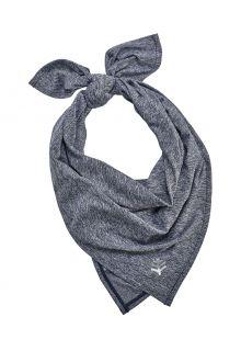 Coolibar---UV-schützendes-Sportbandana-für-Erwachsene---Virasana---Navy